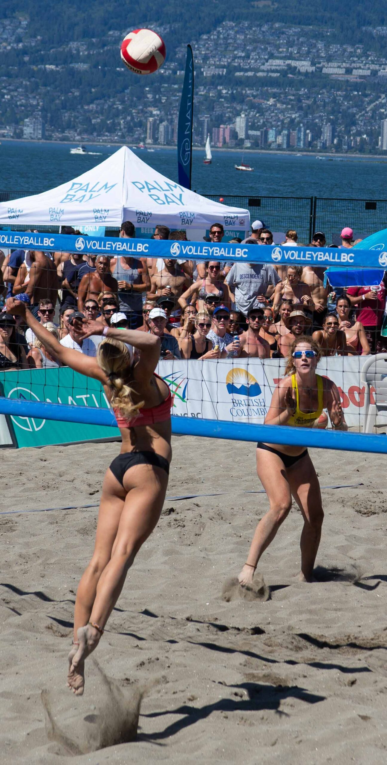 woman Volleyball Jump